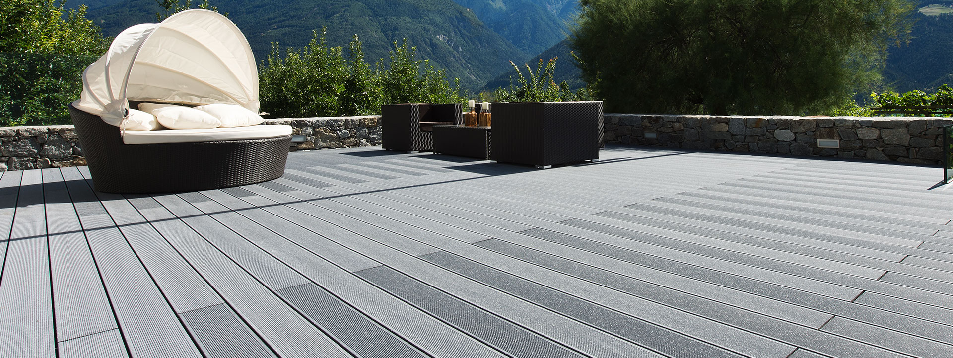 Composite decking in ireland high quality composite for White composite decking