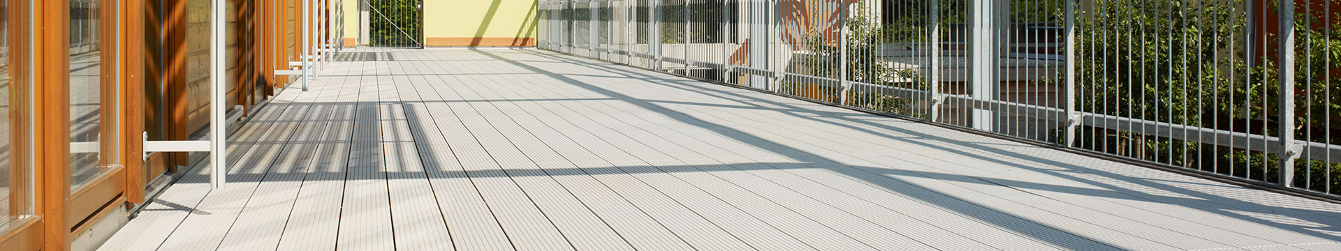 Composite decking with unique stain resistance surface